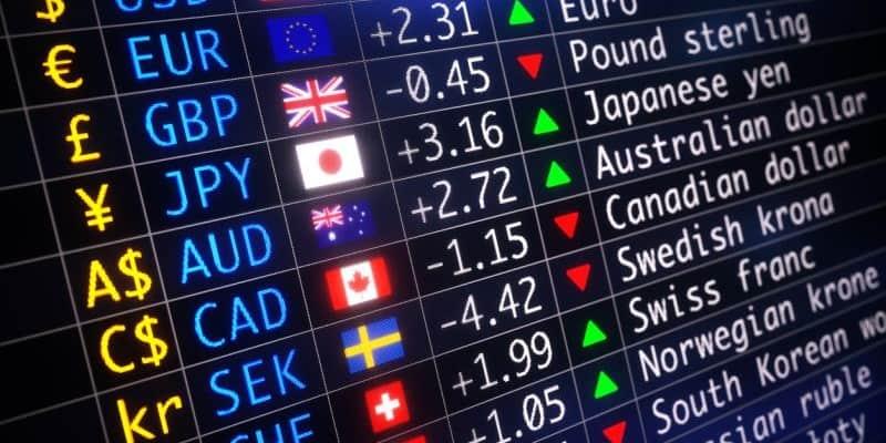 سعر الصرف سوق صرف العملات  فوركس